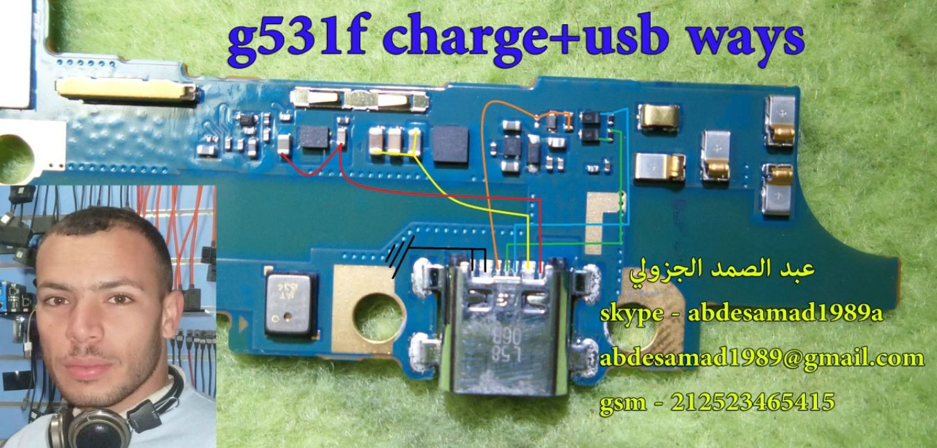Samsung Galaxy Grand Prime G531f Charging Solution Jumper