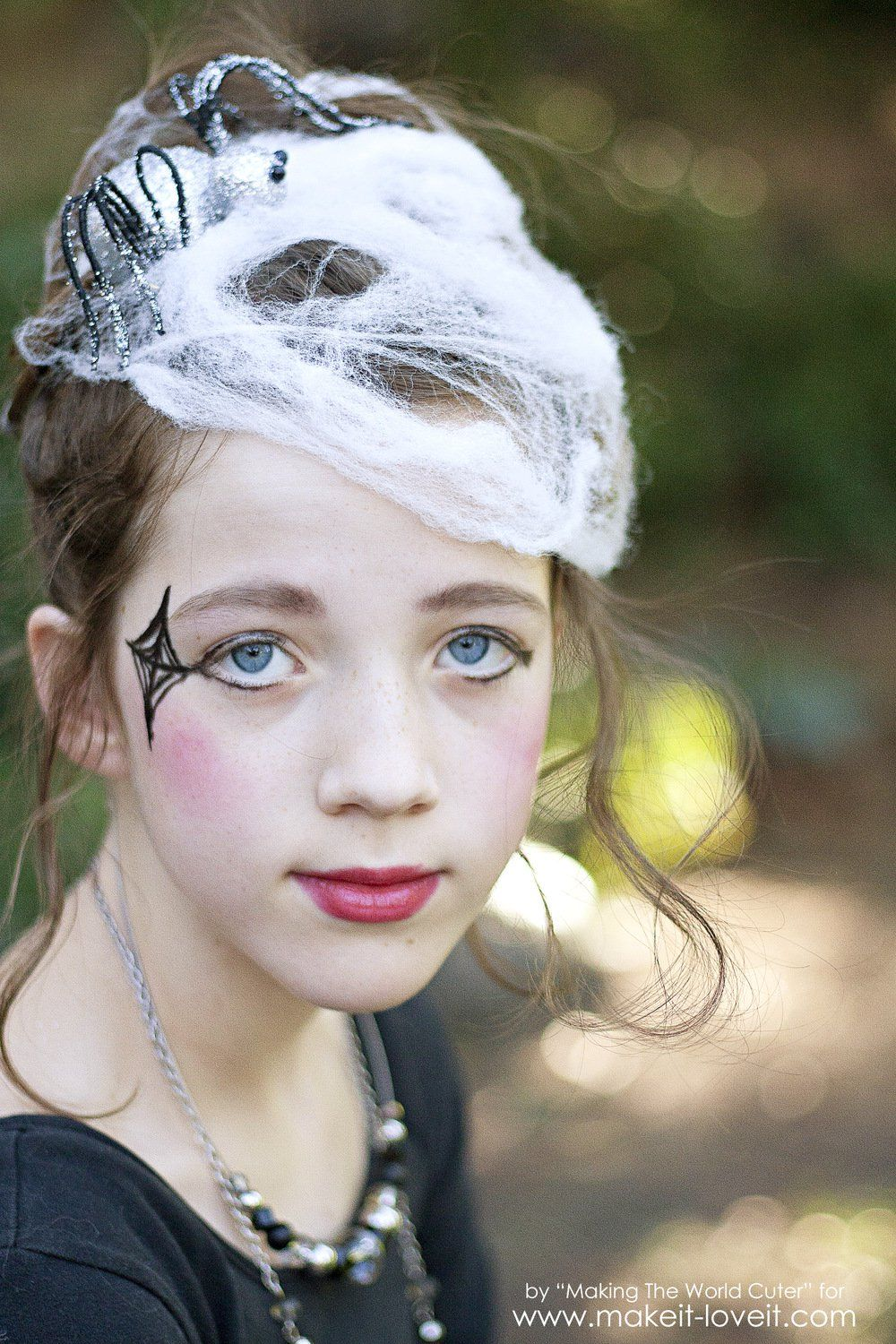 DIY Spider Costume for Tweens/Teens (or any age, really