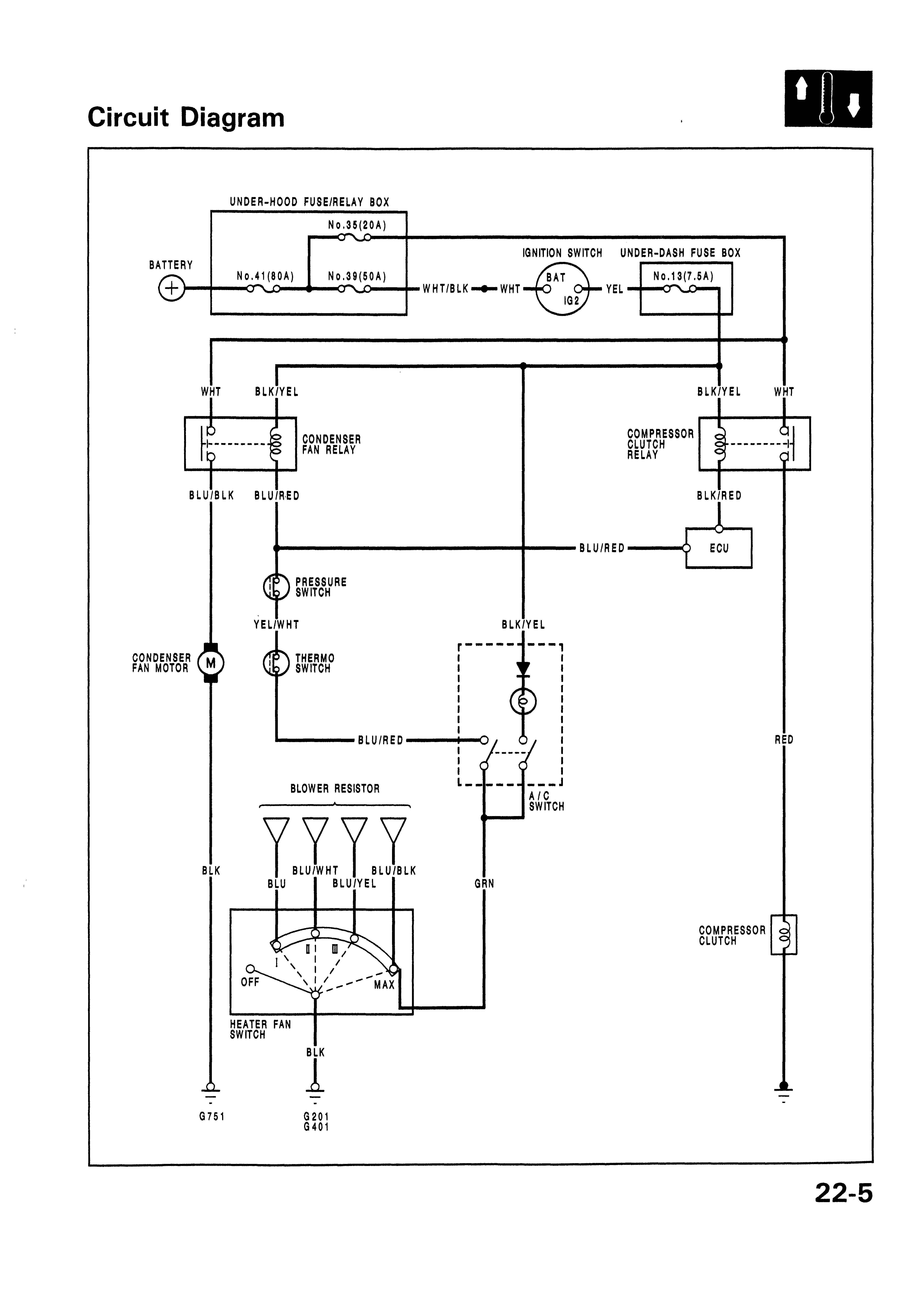 Wiring Diagram Car Air Conditioning Con Imagenes Ing
