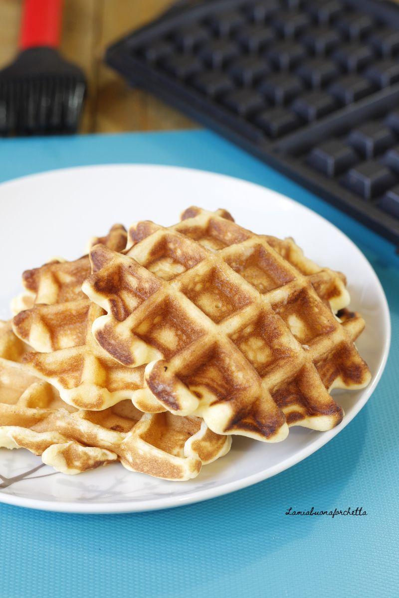 Ricetta Waffle Dolci Giallo Zafferano.Waffle Deliziosi E Morbidi Ricetta Facile Ricette Waffle Ricette Facili