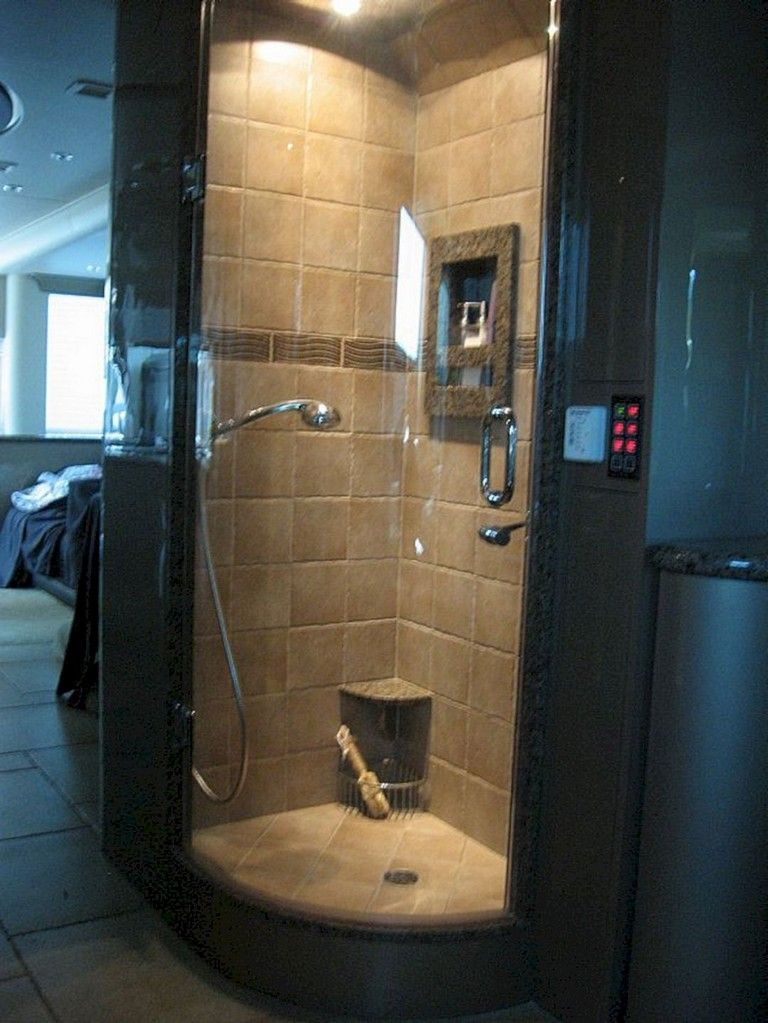 9 amazing rv bathroom remodel with before and after picture rh pinterest com