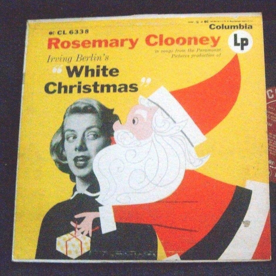 Rosemary Clooney WHITE CHRISTMAS LP Album - Vinyl Columbia Record ...
