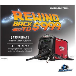 Weldfabulous New Rebates From Lincoln Electric Link In Bio 433 Rebate On