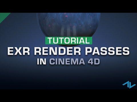 29 Vfx Tutorial Render Exr Passes Like A Pro Cinema 4d Youtube Vfx Tutorial Cinema 4d Tutorial