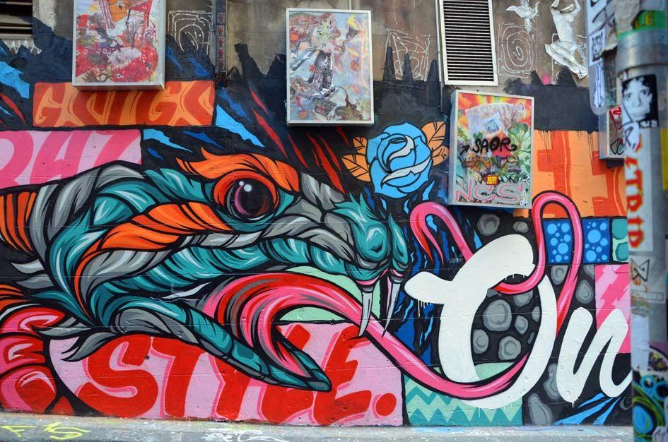 Hosier Lane April 2013 Art, Street graffiti, Graffiti art