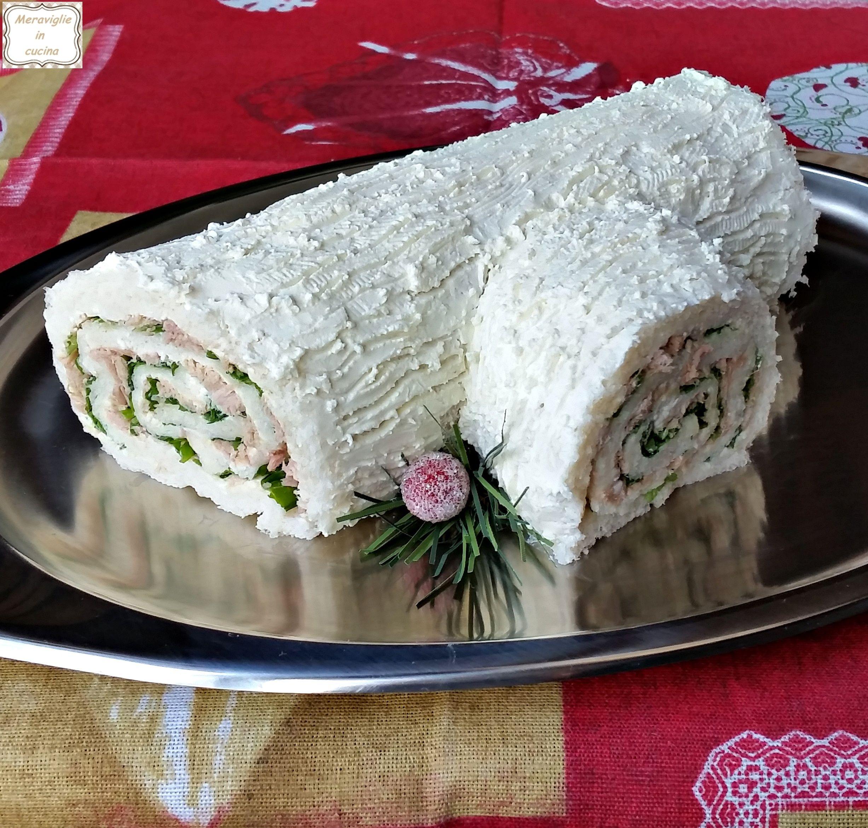 Ricetta Tronchetto Di Natale Salato.Tronchetto Di Natale Salato Tonno E Rucola Meraviglie In Cucina Ricetta Ricette Idee Alimentari Cibo Etnico