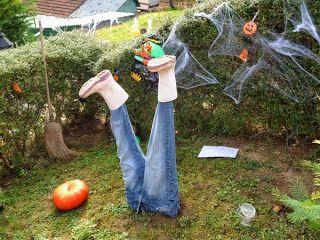 Créer une déco pour le jardin halloween | Idée déco jardin Halloween ...