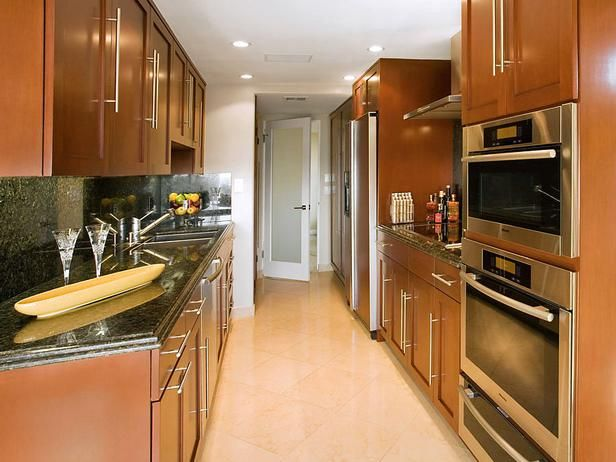 Galley Kitchen Remodel Ideas Consider a galley kitchen remodel for a ...