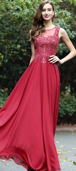 eDressit Burgundy Sweetheart Formal Dress with Lace and Beads ...