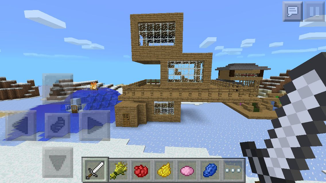 This Is A Very Easy House To Make You Can Make It On Pe Pc And