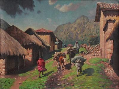 'Village from My Land'