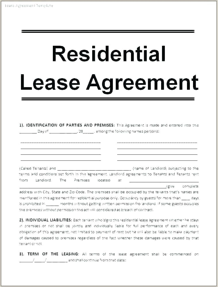 Pin by Templates807 on Agreement Templates in 2020 Lease