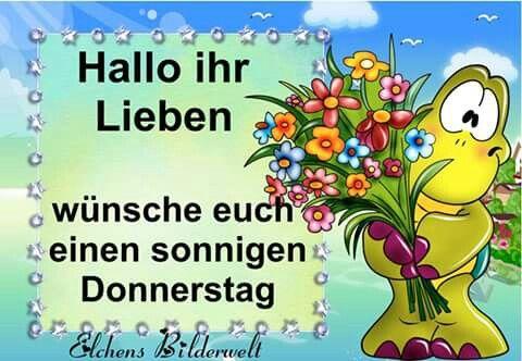 Sonnigen Donnerstag Frohes Neues Jahr Guten Morgen