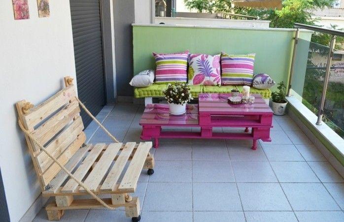 ▷1001+ idées pour fabriquer un banc en palette charmant Pallet