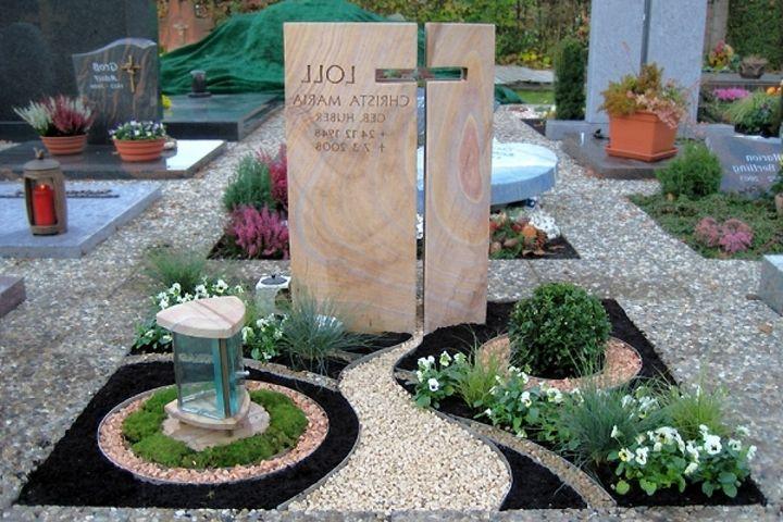 Gräber Gestaltung Mit Kies | Grabgestaltung Mit Kies Anleitung | Garten Und  Bauen