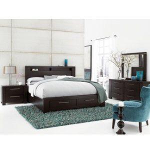 Tocara collection master bedroom bedrooms art van - Bedroom furniture stores michigan ...