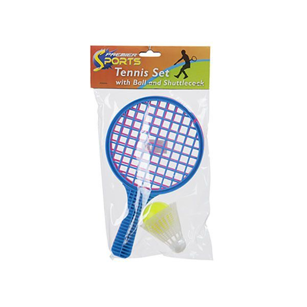 10inch Tennis Set With Ball + Cock In Pvc Bag + Header Card Listing in the Other,Outdoor Toys,Toys & Hobbies Category on eBid United Kingdom | 148018913