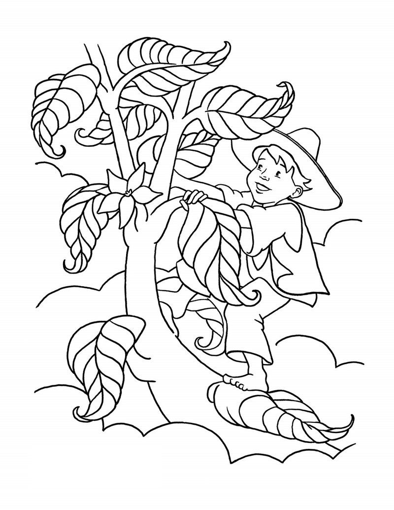Jack And The Beanstalk Worksheets Coloring. Also see the