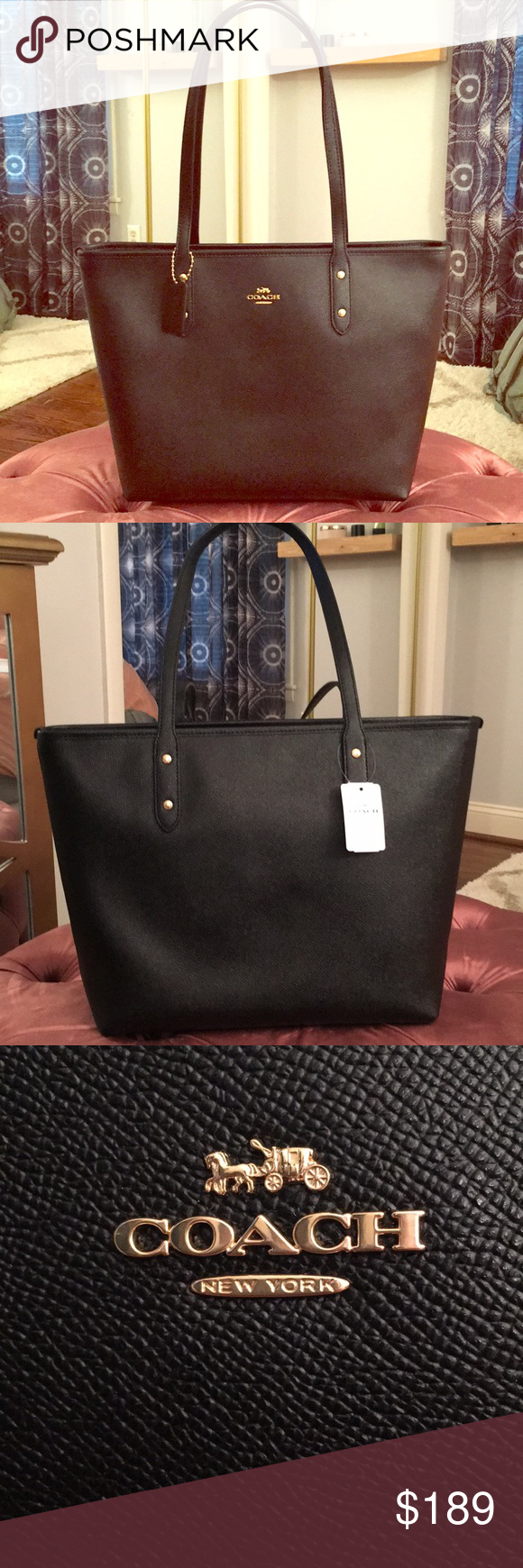 d748e31dd0c Spotted while shopping on Poshmark  NWT Large Coach Zip Tote and Accordion  Wallet!  poshmark  fashion  shopping  style  Coach  Handbags