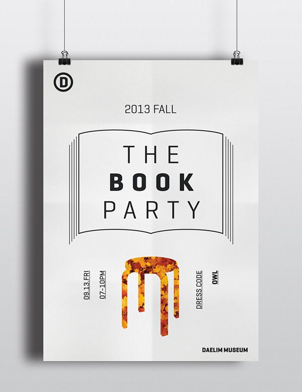 2013 DAELIM MUSEUM FALL PARTY: THE BOOK PARTY   http://www.daelimmuseum.org   Published: August 15, 2015