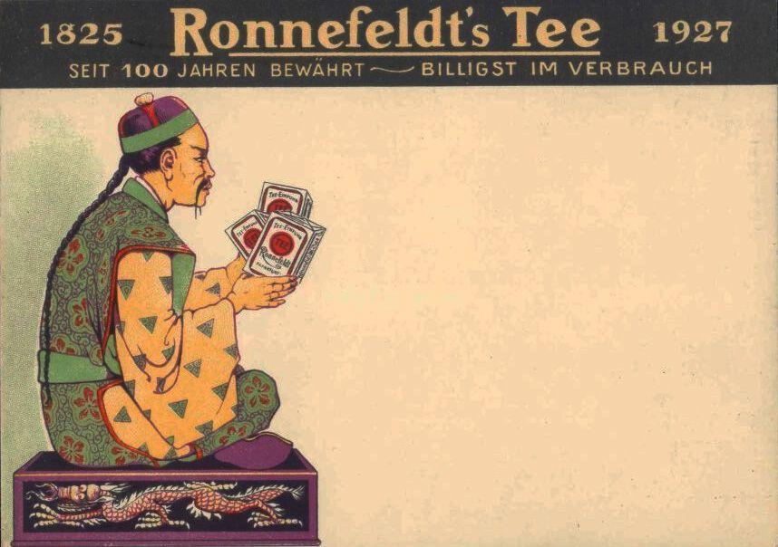 Ronnefeldt's Tea, still in business.