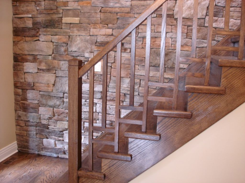 Reinforce A Staircase Wooden Railing Wooden Staircase Railing Handrail Design Modern Stairs