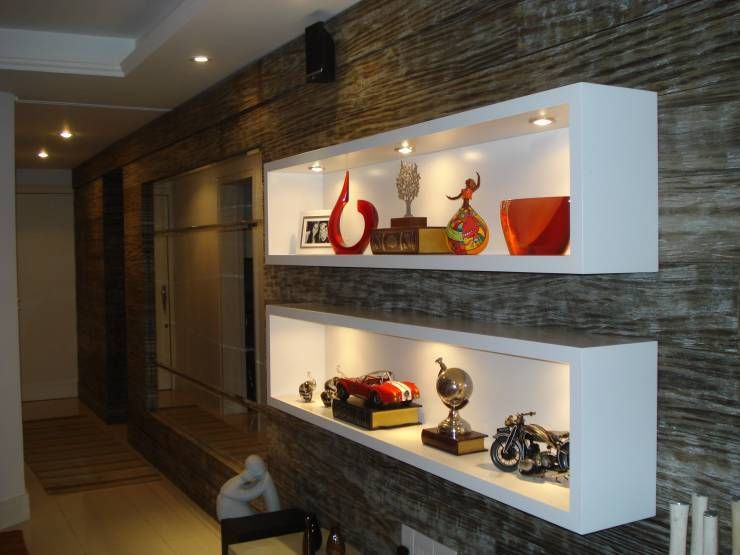 nichos modernos que pods copiar en las paredes de tu casa
