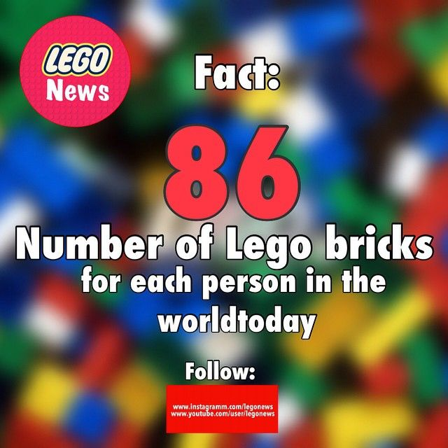 Oh I have than 86 lego bricks :D - Do you like lego then tag a friend who musts now this!❤️✌️ - Follow: ▶️@fussball____news ▶️@starwarsbricksshow ▶️@fun_corp - Dayl new Lego News