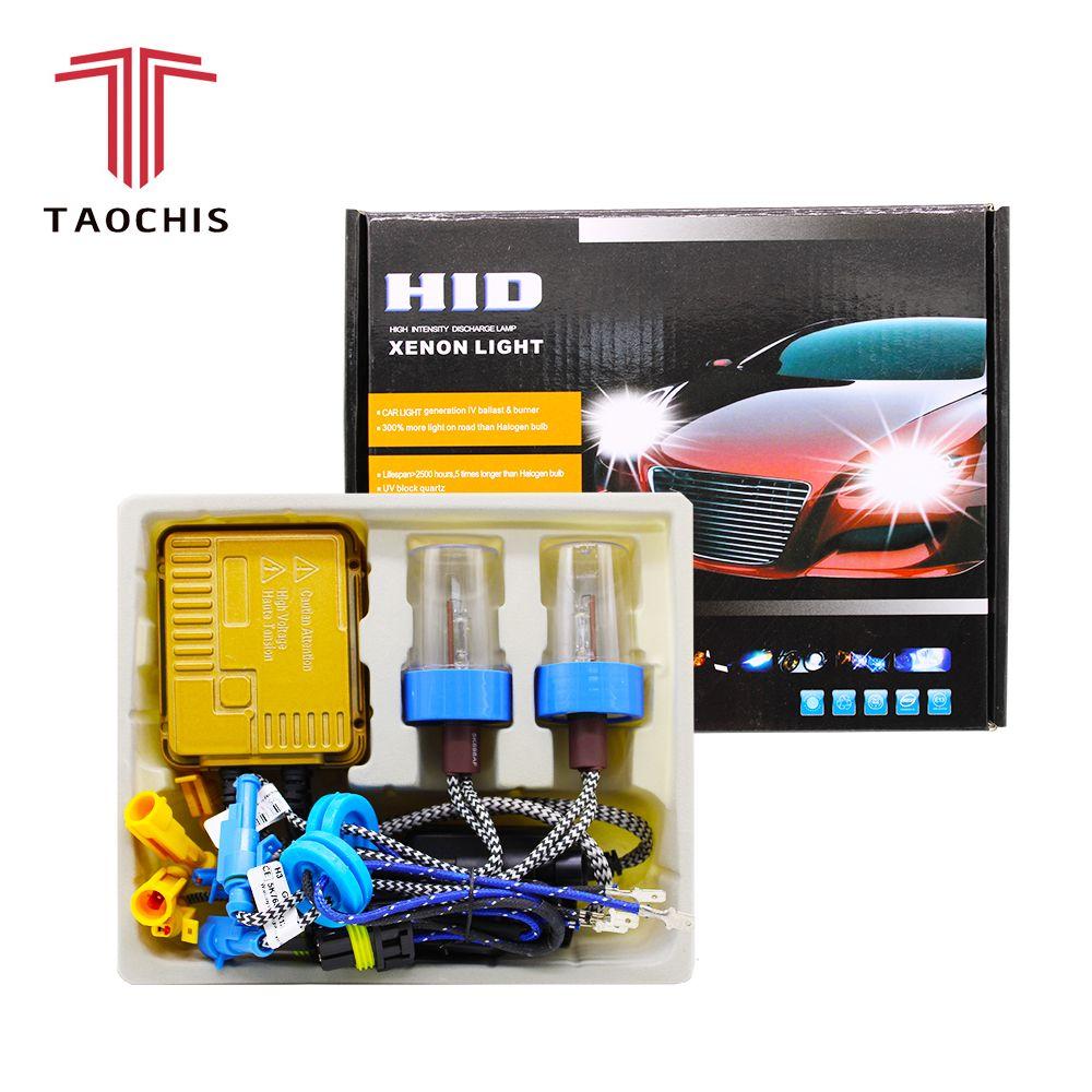 Taochis Ac 12v Hid Headlight Hid Xenon Ballast 55w Sets Hid Xenon Car Bulbs Bulb