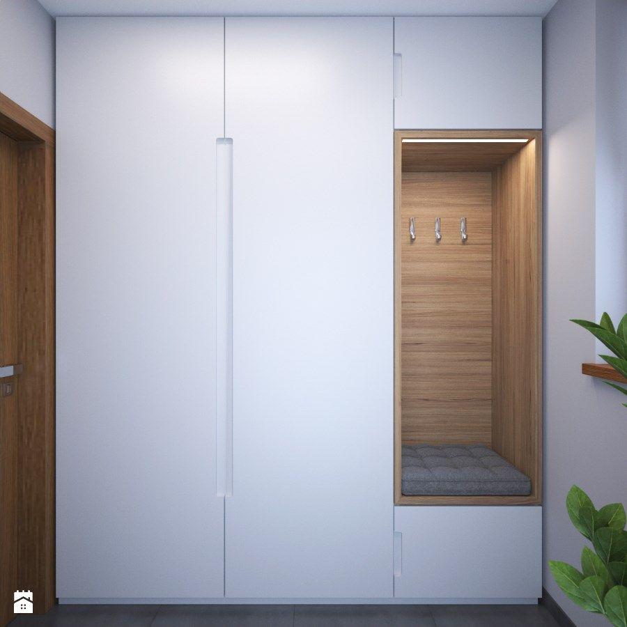 przedpok j zdj cie od am butor architekci idee deco placard entr e vestiaire entr e et. Black Bedroom Furniture Sets. Home Design Ideas
