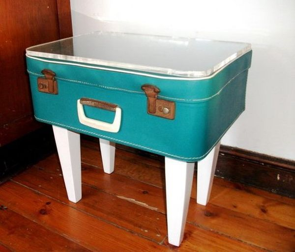 40 Creative Ways Of Re Using Old Suitcases