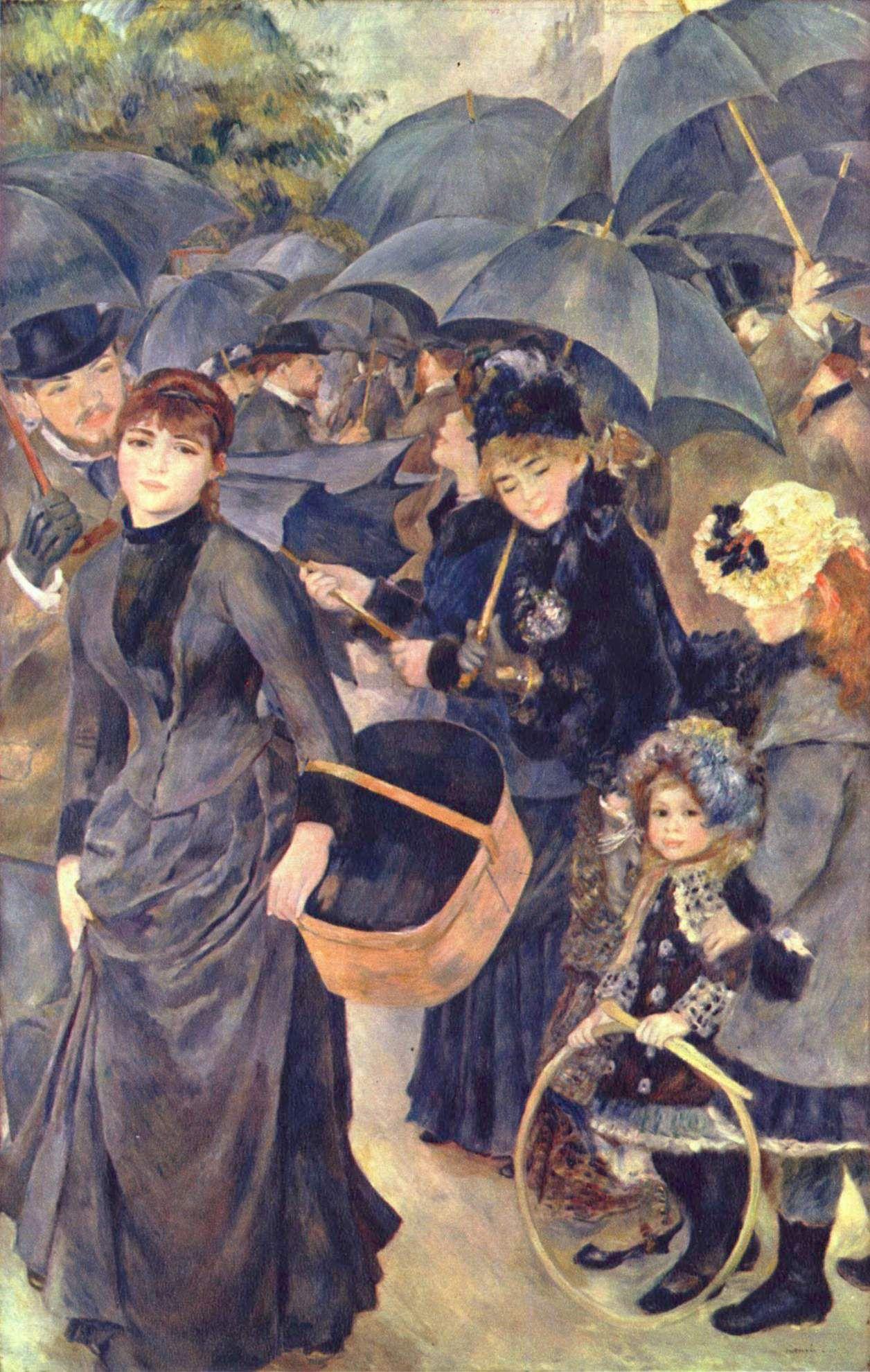Pierre-Auguste Renoir (1841–1919) 1883 oil on canvas 180 × 115 cm  National Gallery Yorck Project: 10.000 Meisterwerke der Malerei. DVD-ROM, 2002. ISB