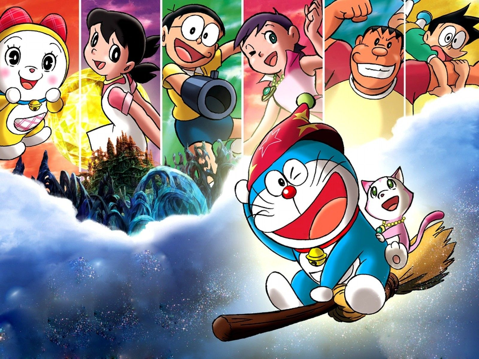 Download wallpaper doraemon free - Doraemon And Friends Wallpapers Hd Doraemon Pinterest Friends Wallpaper Hd