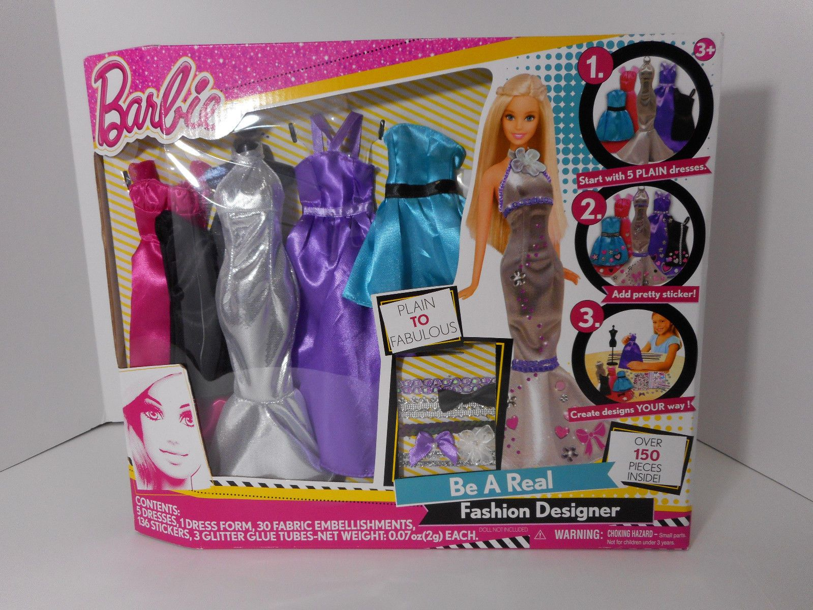Barbie Be A Real Fashion Designer Play Set Design Your Own Barbie Clothes Ebay Embellishment Fashion Design Fashion Design