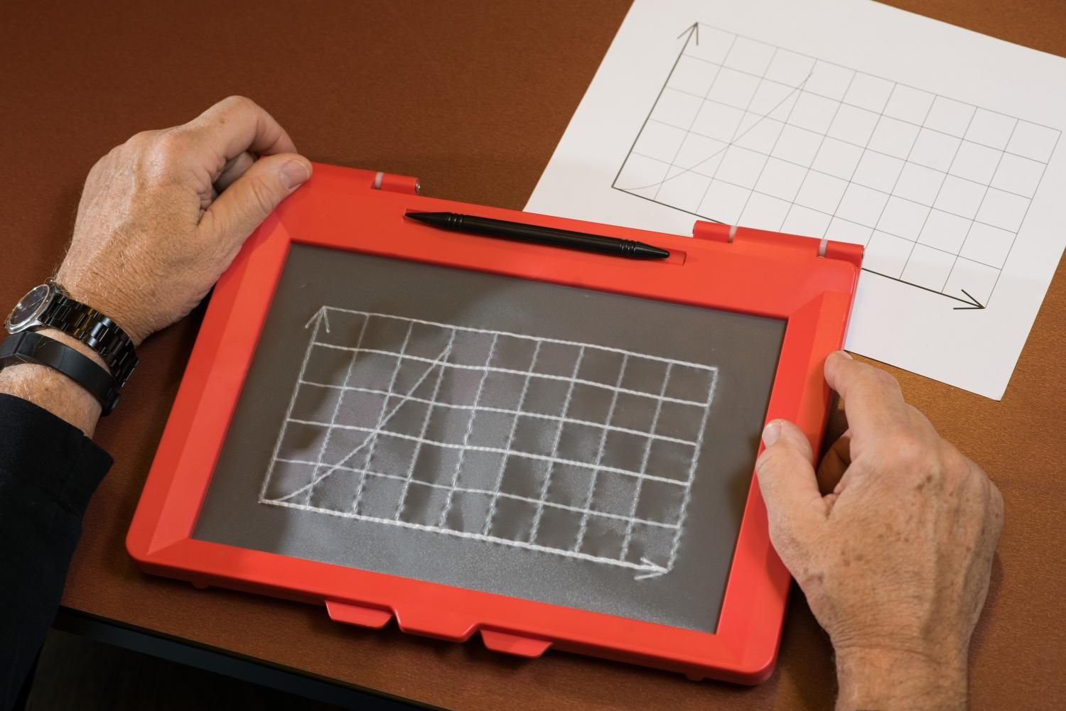 Teaching The Blind To Draw And Do Stem Teaching Technology Transfer Startup Company