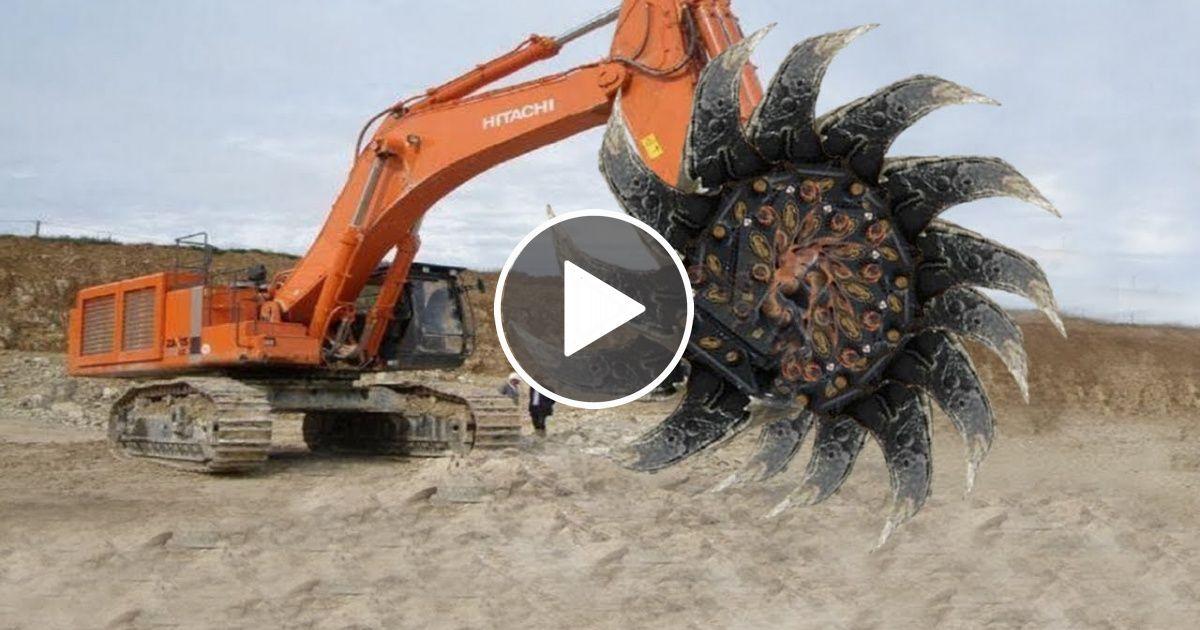 World Dangerous Monster Biggest Excavator Machines Construction