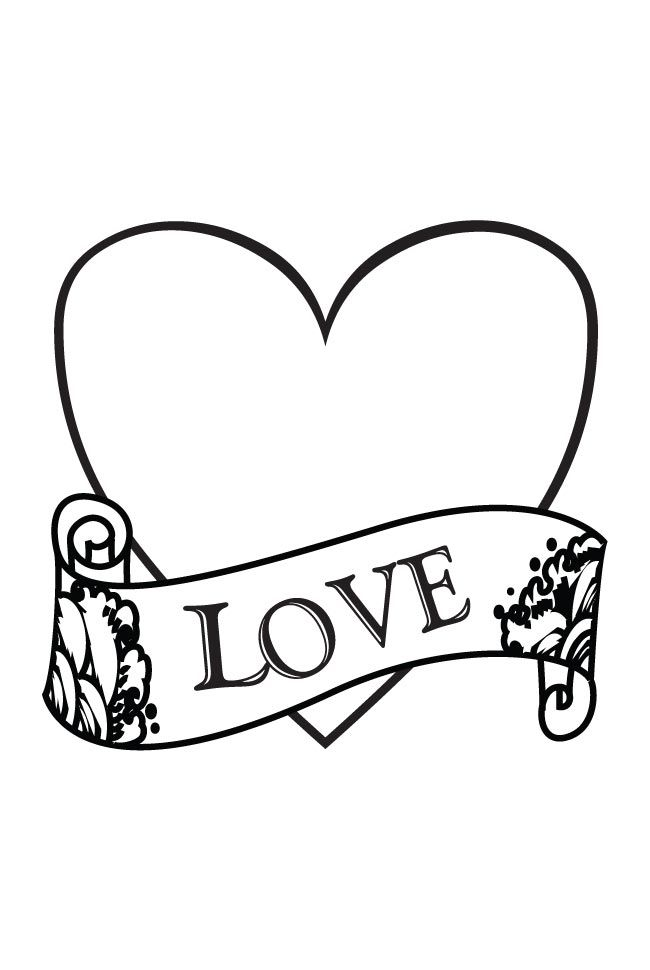 I Love You Coloring Pages Love And Hearts Coloring Pages Free