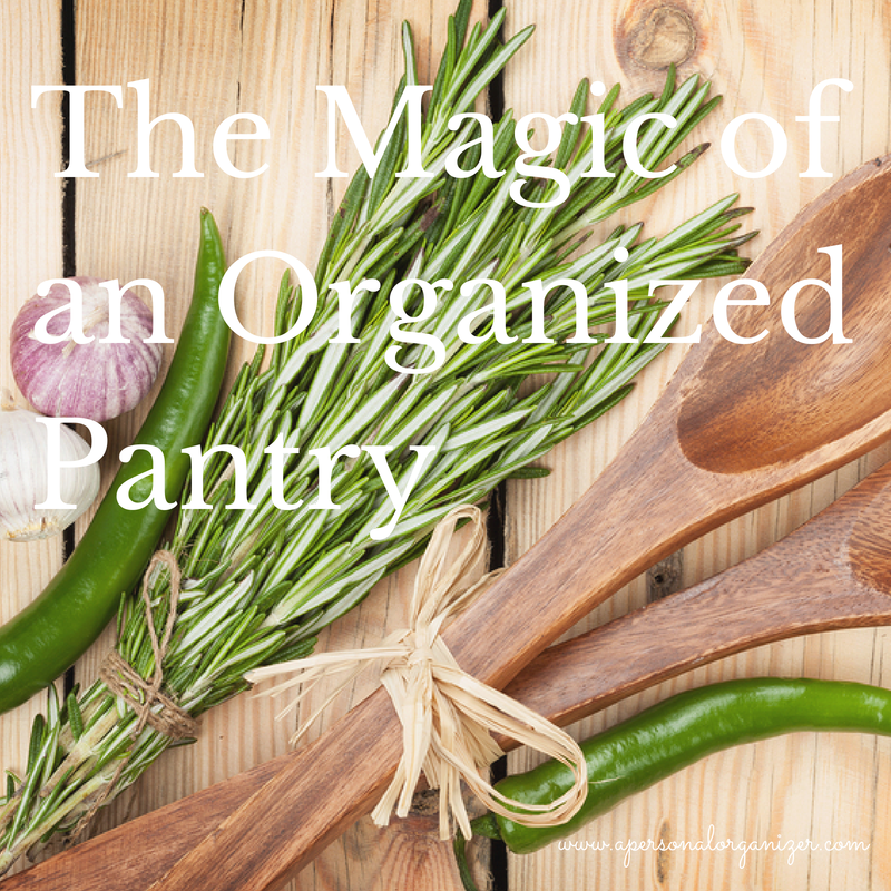 The Magic of an Organized Pantry!