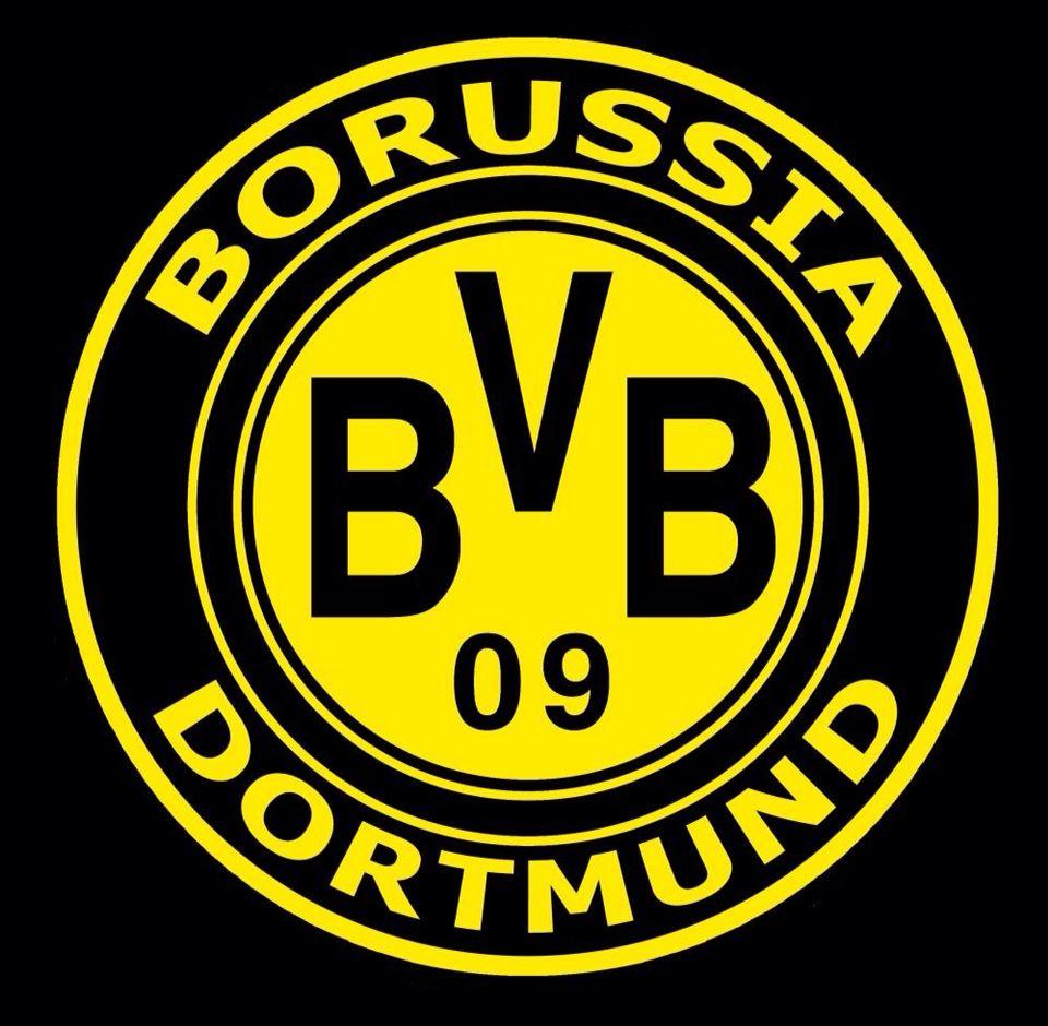 einmal borusse immer birusse  borussia dortmund logo
