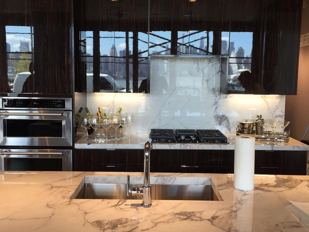 Porcelain countertops are ideal for kitchens. Visit our Porcelain ...