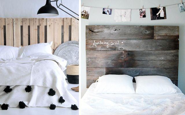 Decoración de dormitorios con cabeceros de madera Casa