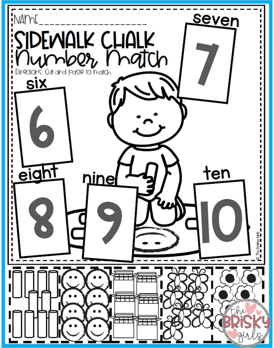 Kindergarten Math Numbers 0 20