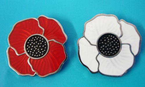 Enamel Poppy Badges for Remembrance & Peace   poppy   Poppy