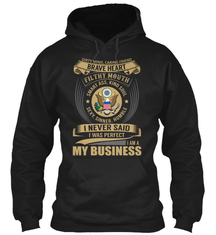 My Business - I Never Said I Was Perfect