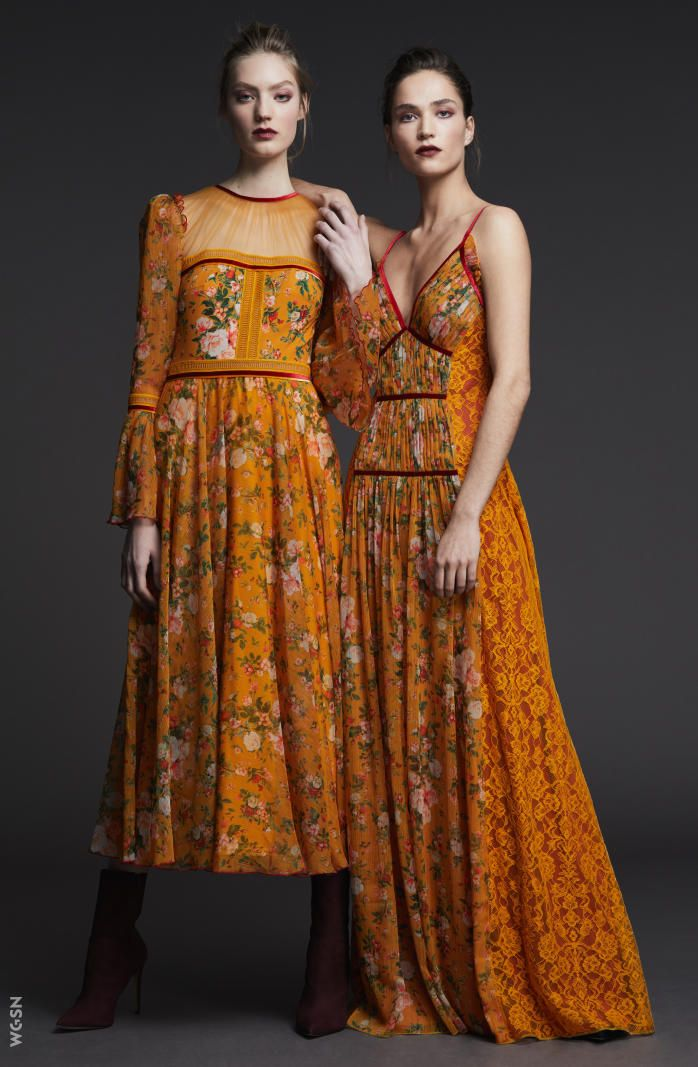 Maxi dresses autumn winter 2018