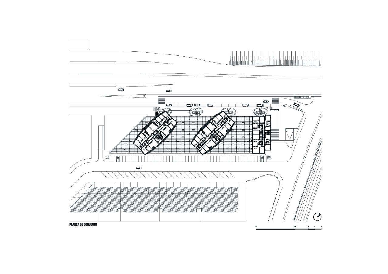 Housing In Aveiro,general plan