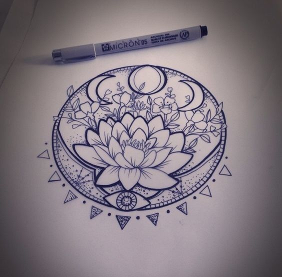 Lunar Phase Lotus
