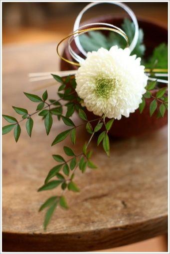 Japanese Floral Centerpiece - お正月