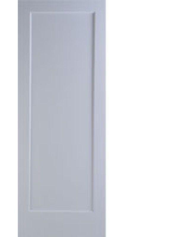 1 3 8 Primed Interior Shaker 1 Panel Single Door By Woodgrain Interior French Doors Interior Single Doors Doors Interior