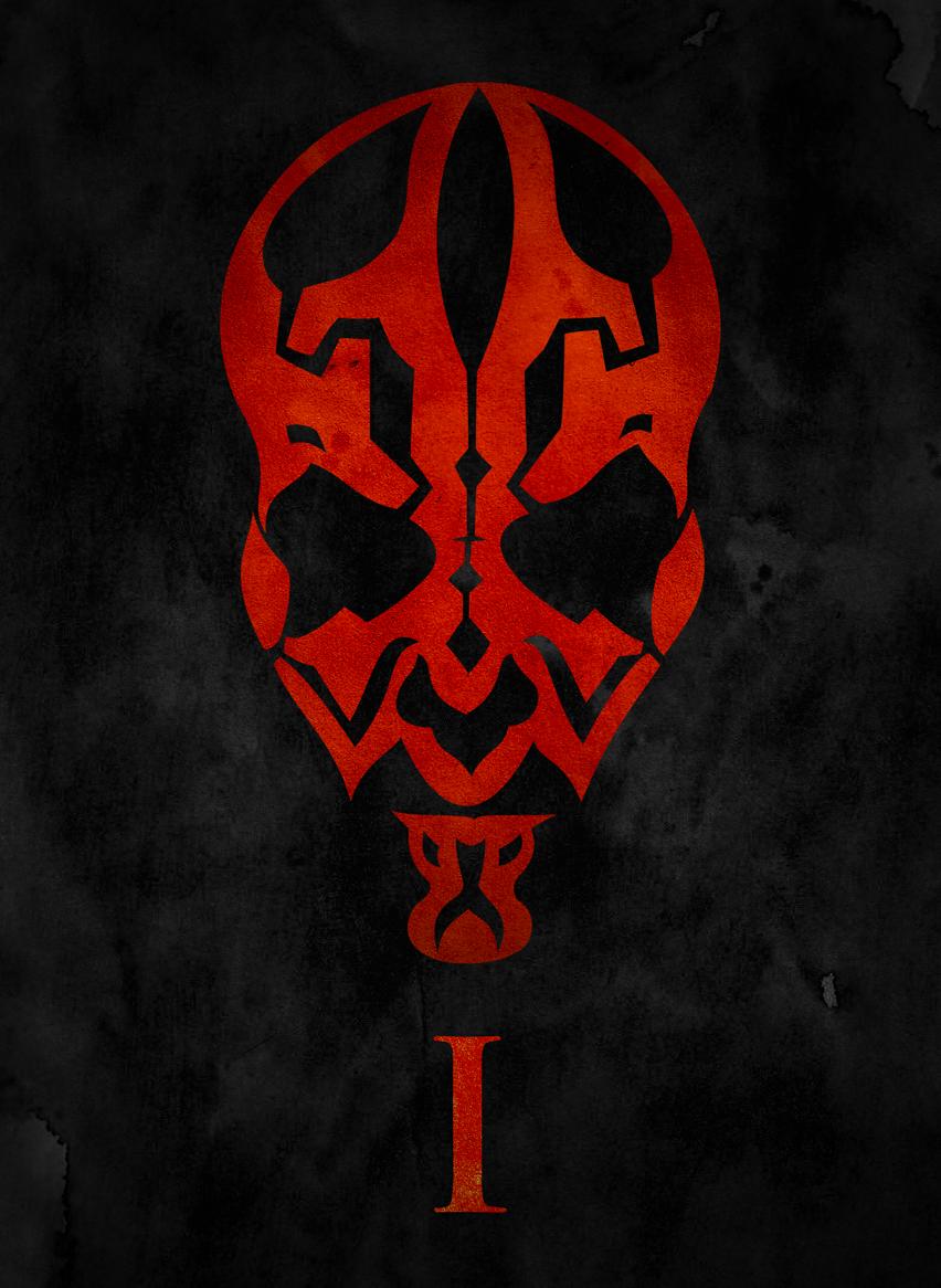 Darth Maul Star Wars Tattoo Star Wars Movies Posters Star Wars Art